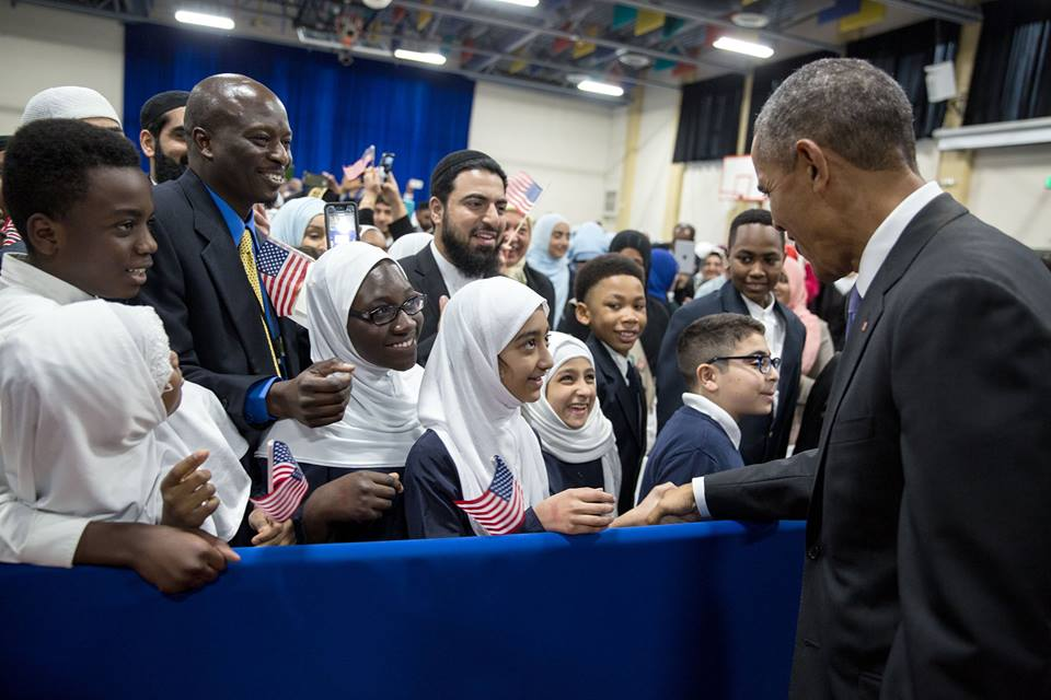 Historic Mosque Visit: A Thoughtful Gift For President Obama