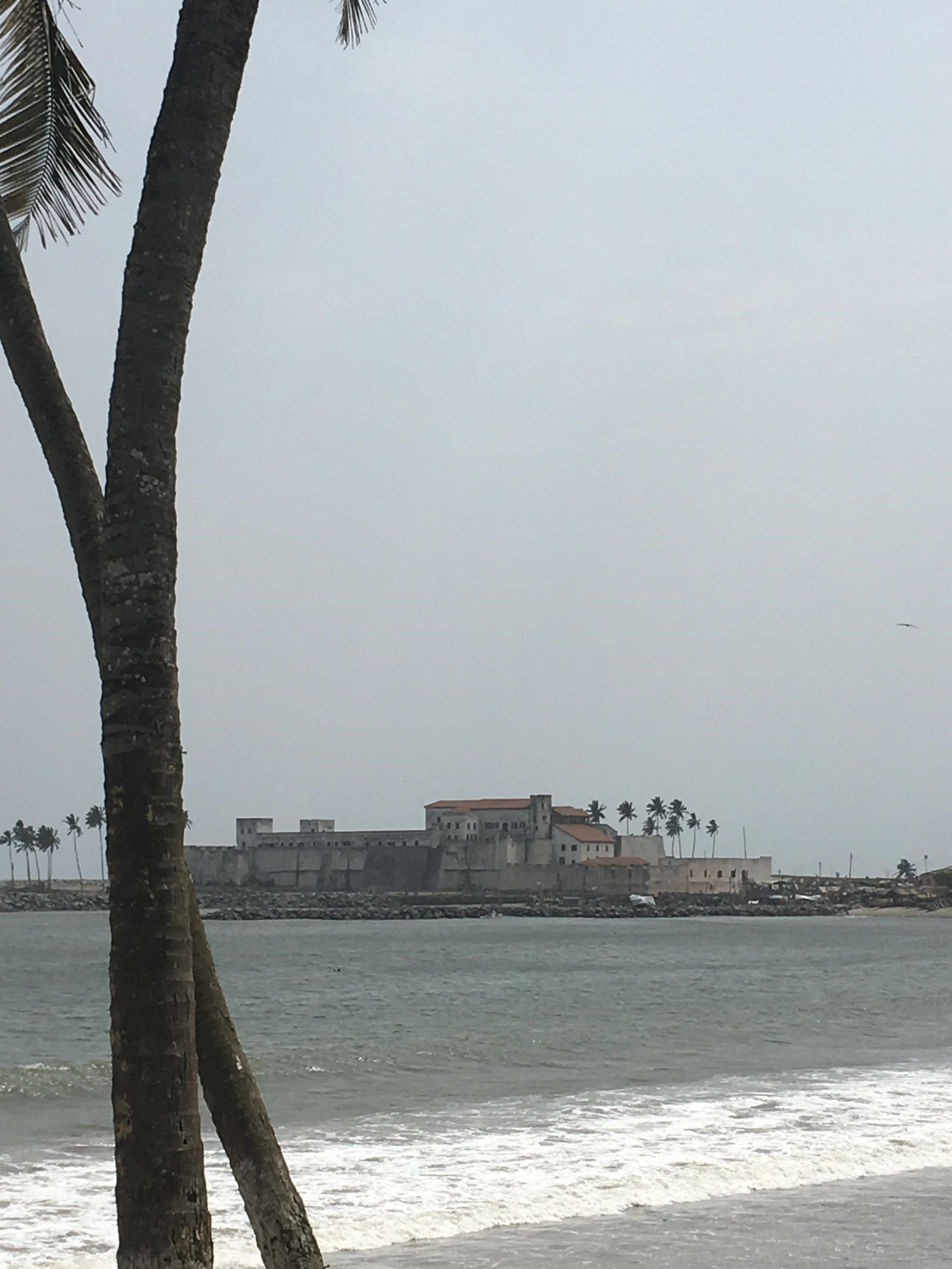 Slave Castle off of the Cape Coast of Ghana