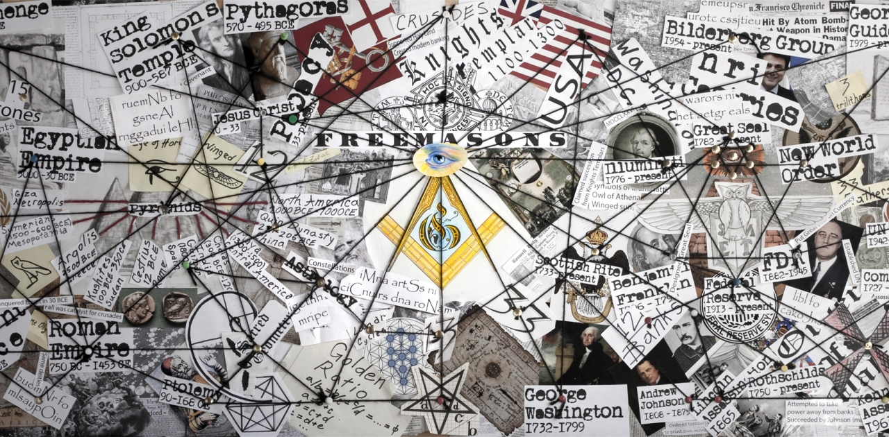 When Conspiracy Is Our Mentality How Do We Gain Trust When We - Washington dc map conspiracy